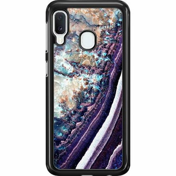 Samsung Galaxy A20e Hard Case (Svart) TOKYO