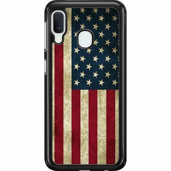 Samsung Galaxy A20e Hard Case (Svart) USA