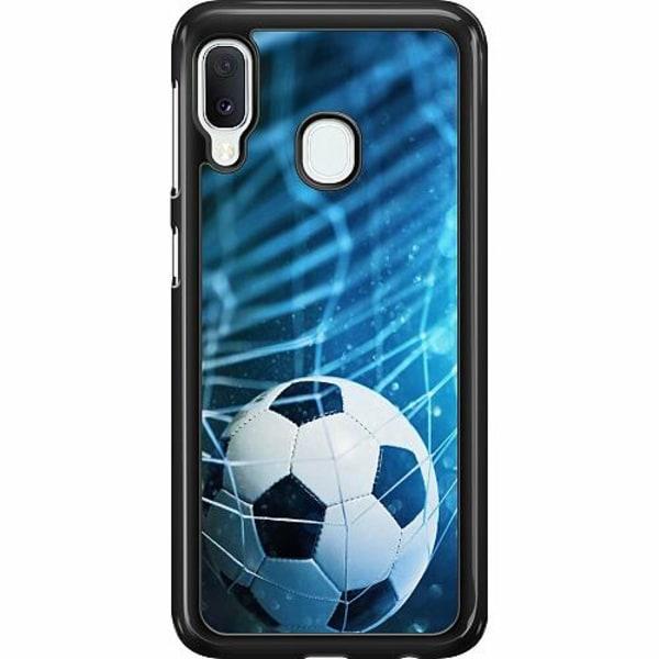 Samsung Galaxy A20e Hard Case (Svart) VM Fotboll 2018