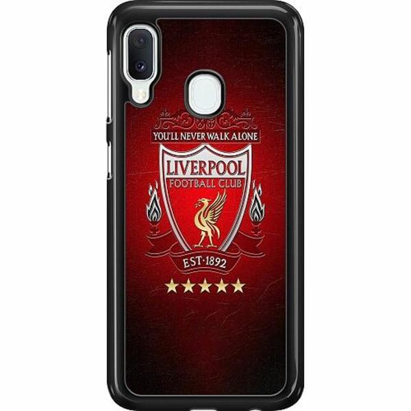 Samsung Galaxy A20e Hard Case (Svart) YNWA Liverpool