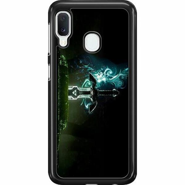 Samsung Galaxy A20e Hard Case (Svart) Zelda