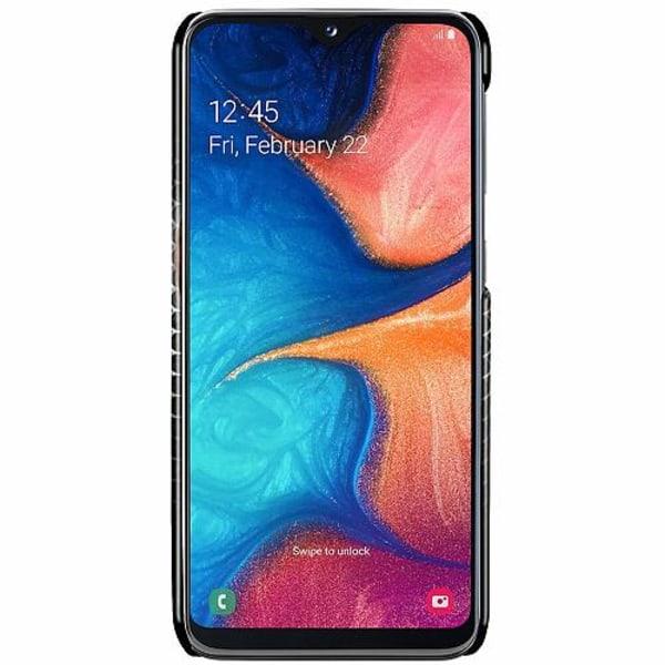 Samsung Galaxy A20e LUX Mobilskal (Glansig) Dödskalle