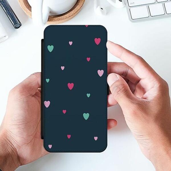 Huawei P Smart (2019) Slimmat Fodral Falling Hearts <3