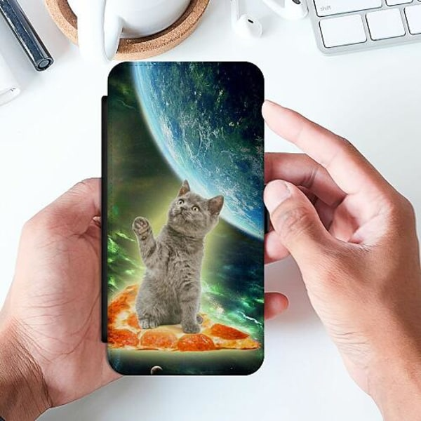 Huawei P Smart (2019) Slimmat Fodral Flying Pizza