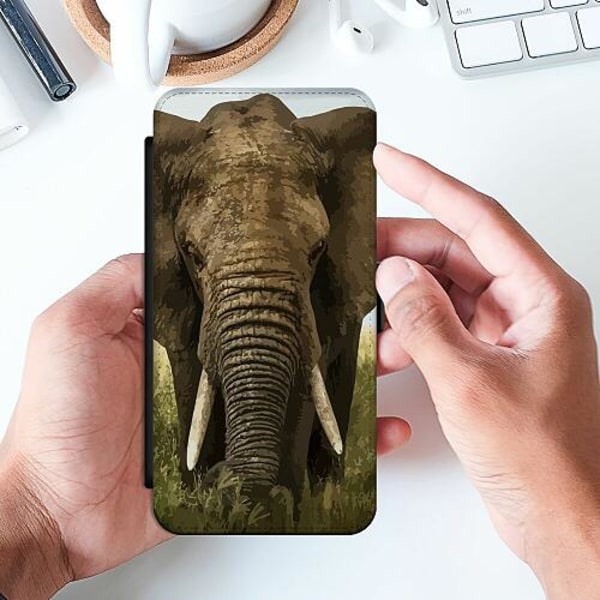 Huawei P Smart (2019) Slimmat Fodral Old And Wise Elephant