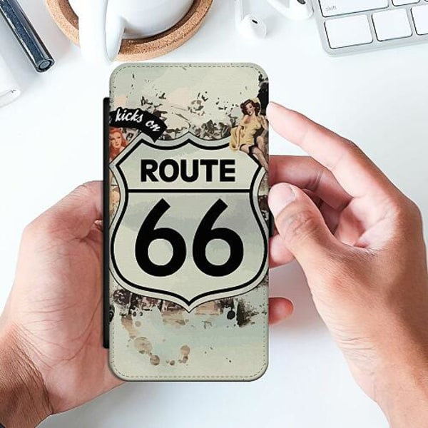 Huawei P Smart (2019) Slimmat Fodral ROUTE 66