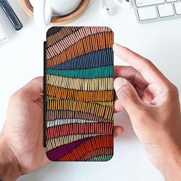 Huawei P Smart (2019) Slimmat Fodral Stitched Waves