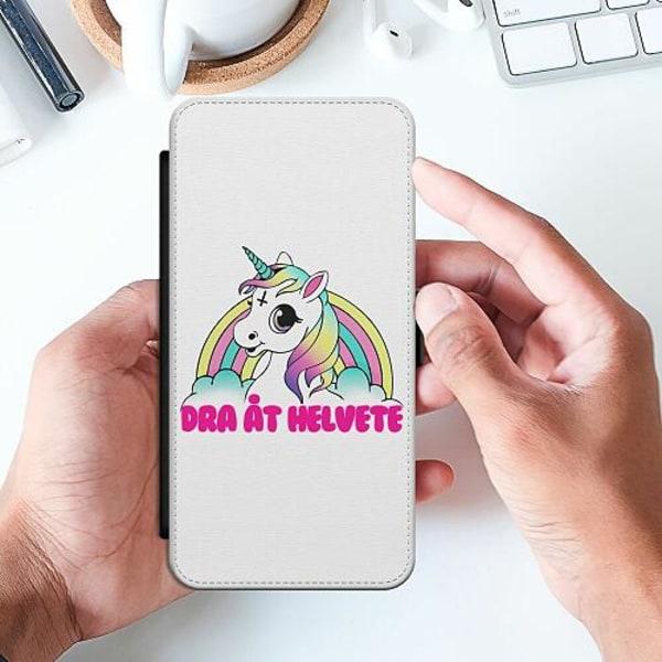Huawei P Smart (2019) Slimmat Fodral Unicorn - Dra Åt @!#