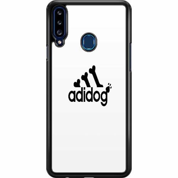 Samsung Galaxy A20s Hard Case (Svart) adidog