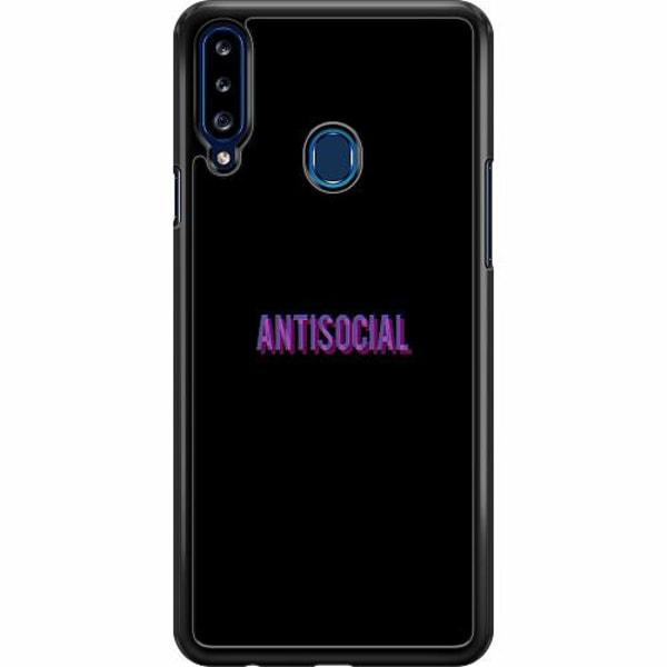 Samsung Galaxy A20s Hard Case (Svart) Antisocial