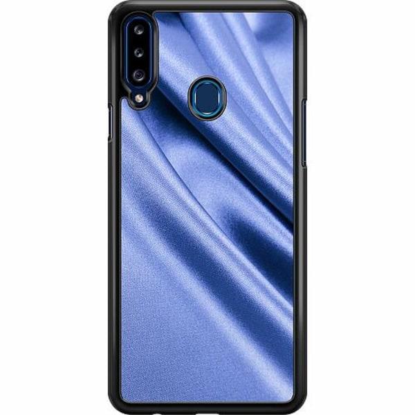 Samsung Galaxy A20s Hard Case (Svart) Aquatic Silk