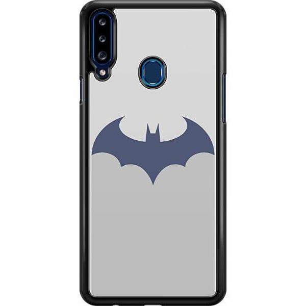 Samsung Galaxy A20s Hard Case (Svart) Bat