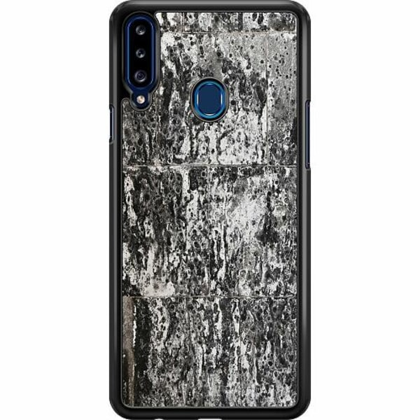 Samsung Galaxy A20s Hard Case (Svart) Berlin Walls