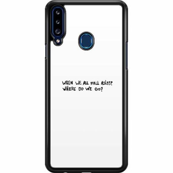 Samsung Galaxy A20s Hard Case (Svart) Billie Eilish