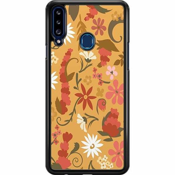 Samsung Galaxy A20s Hard Case (Svart) Bloomery