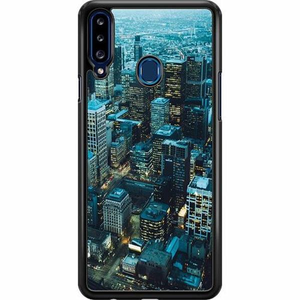 Samsung Galaxy A20s Hard Case (Svart) City Buzz