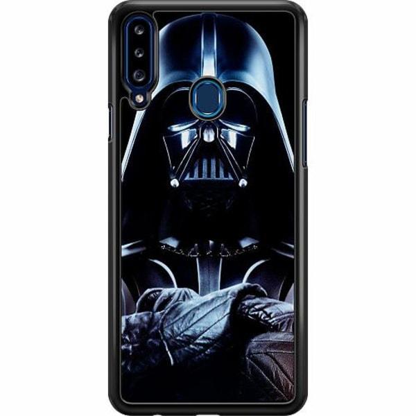 Samsung Galaxy A20s Hard Case (Svart) Darth vader