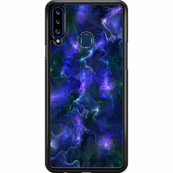 Samsung Galaxy A20s Hard Case (Svart) Färger