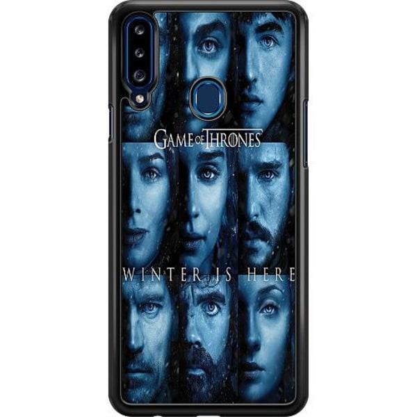 Samsung Galaxy A20s Hard Case (Svart) Game of Thrones