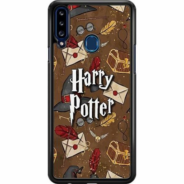 Samsung Galaxy A20s Hard Case (Svart) Harry Potter