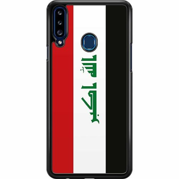 Samsung Galaxy A20s Hard Case (Svart) Irak
