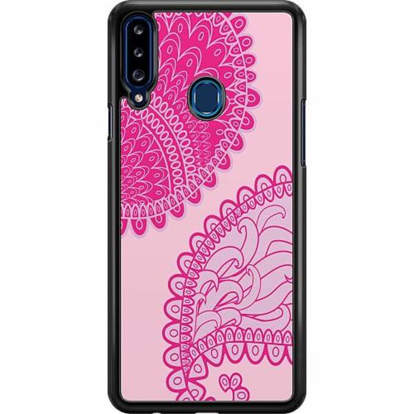 Samsung Galaxy A20s Hard Case (Svart) Pinkish Life