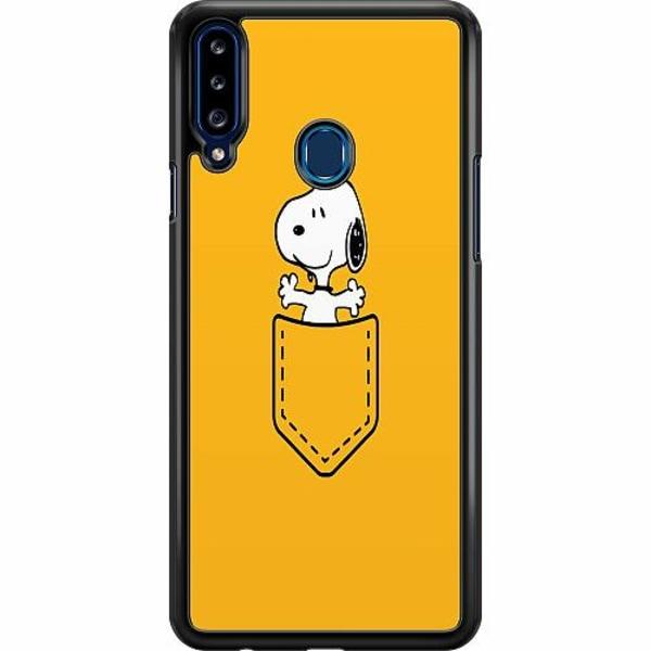 Samsung Galaxy A20s Hard Case (Svart) Pocket Snoop