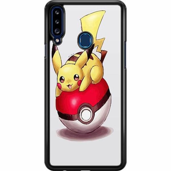Samsung Galaxy A20s Hard Case (Svart) Pokemon
