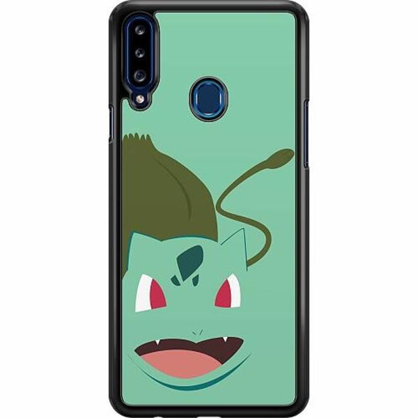 Samsung Galaxy A20s Hard Case (Svart) Pokémon - Bulbasaur