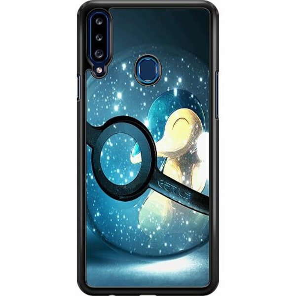 Samsung Galaxy A20s Hard Case (Svart) Pokemon