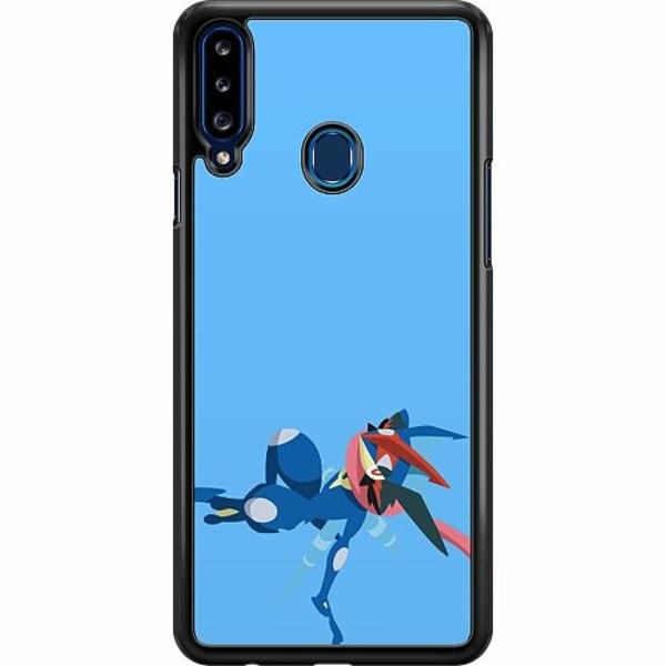 Samsung Galaxy A20s Hard Case (Svart) Pokémon - Greninja