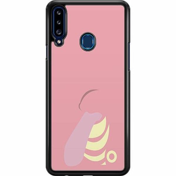 Samsung Galaxy A20s Hard Case (Svart) Pokémon - Lickitung