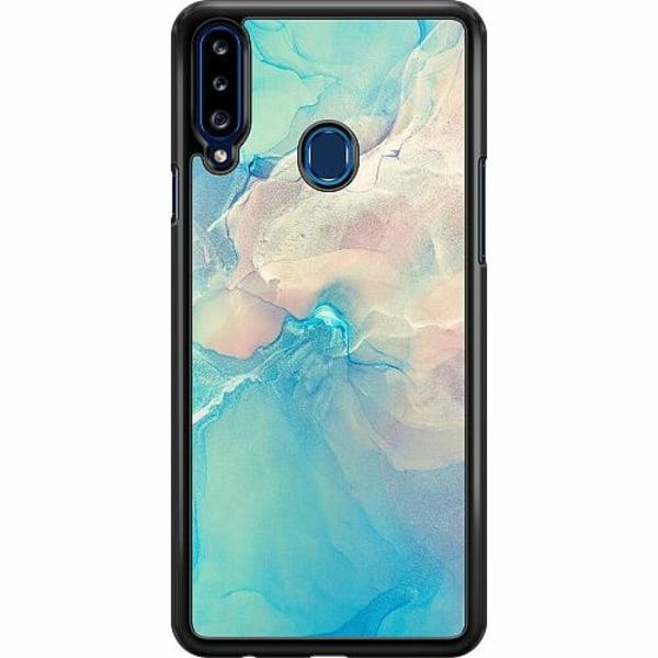 Samsung Galaxy A20s Hard Case (Svart) Precipitate Tempus