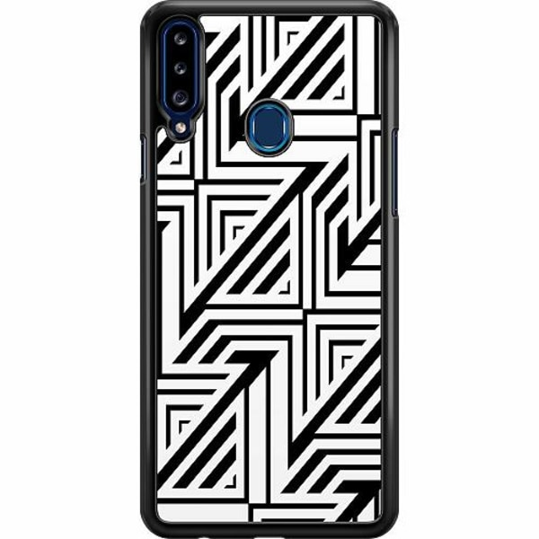 Samsung Galaxy A20s Hard Case (Svart) Probably Yes