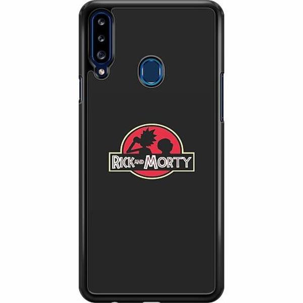 Samsung Galaxy A20s Hard Case (Svart) Ricks Dino Show