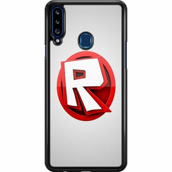 Samsung Galaxy A20s Hard Case (Svart) Roblox
