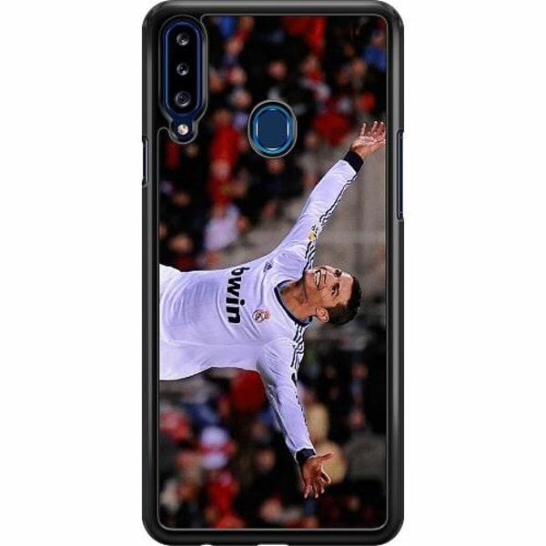 Samsung Galaxy A20s Hard Case (Svart) Ronaldo