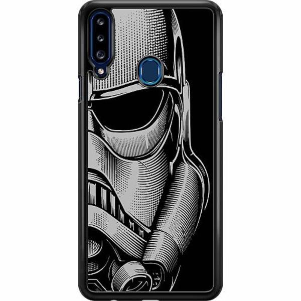 Samsung Galaxy A20s Hard Case (Svart) Stormtrooper