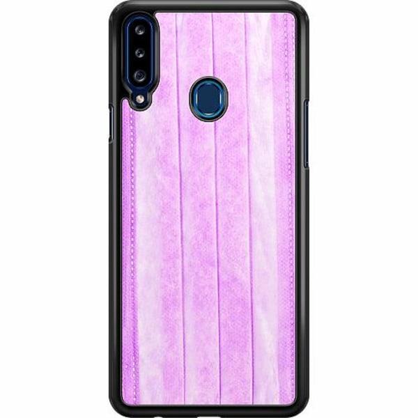 Samsung Galaxy A20s Hard Case (Svart) Surgical Pink