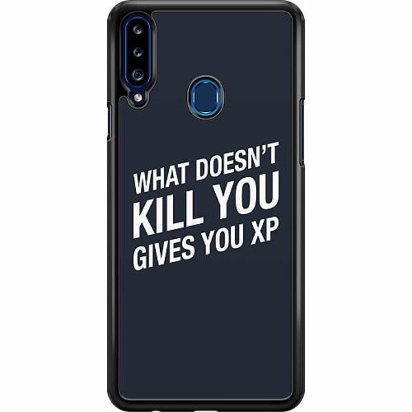 Samsung Galaxy A20s Hard Case (Svart) XP