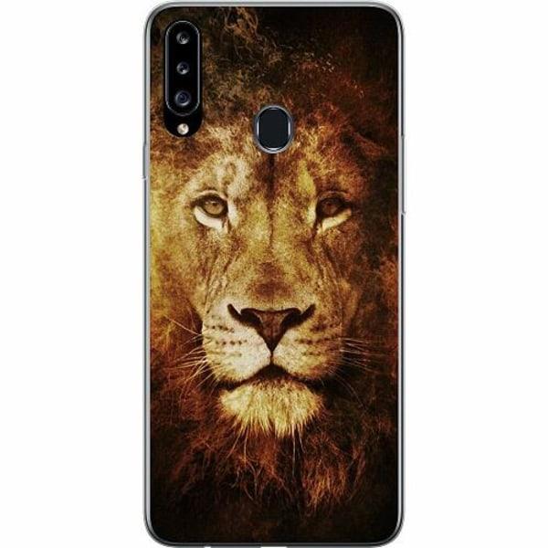 Samsung Galaxy A20s Thin Case Lion
