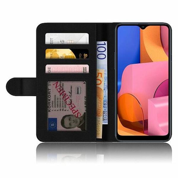 Samsung Galaxy A20s Plånboksskal Mönster
