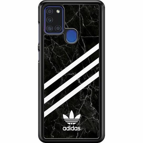 Samsung Galaxy A21s Hard Case (Svart) Fashion