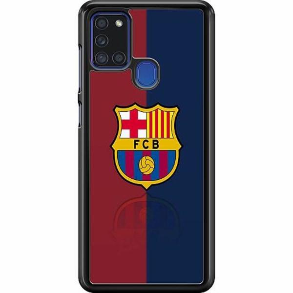 Samsung Galaxy A21s Hard Case (Svart) FC Barcelona