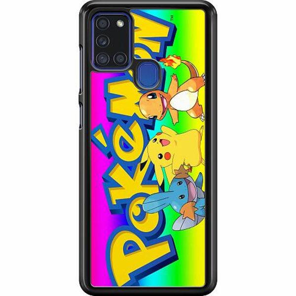 Samsung Galaxy A21s Hard Case (Svart) Pokemon