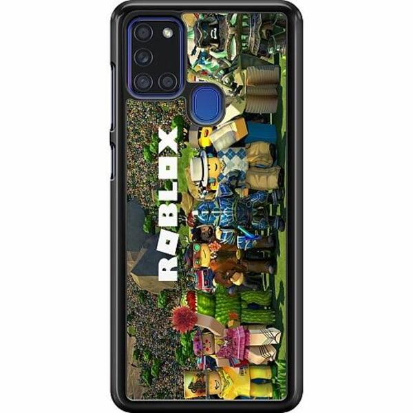 Samsung Galaxy A21s Hard Case (Svart) Roblox