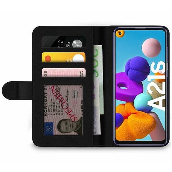 Samsung Galaxy A21s Wallet Case Unicorn