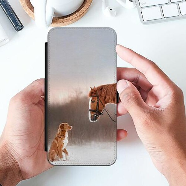 Apple iPhone 11 Pro Max Slimmat Fodral Häst & Hund