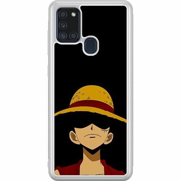 Samsung Galaxy A21s Soft Case (Frostad) Anime