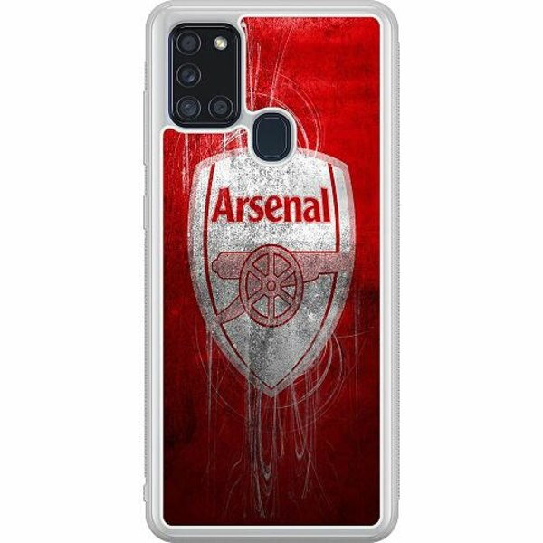 Samsung Galaxy A21s Soft Case (Frostad) Arsenal